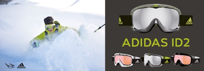 Adidas ID2 ski goggles SK-X models