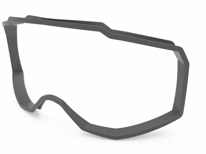 3D model of a full frame adapter of the SK-X sports glasses