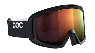 SK-X ski goggles OPSIN Clarity by POC in the colors uranium black / spectris orange