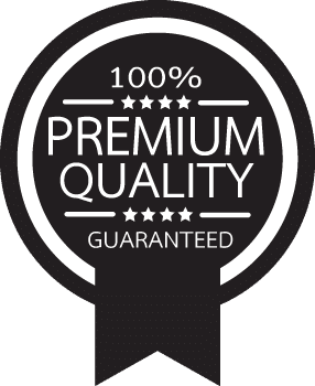 100% Premium Quality guaranteed