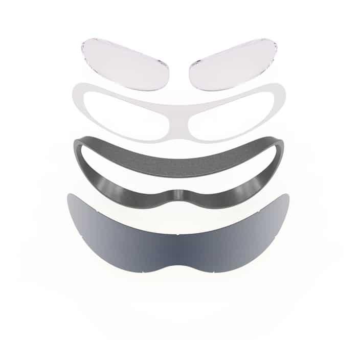 Structure de l'adaptateur SK-X vitrage vue de face