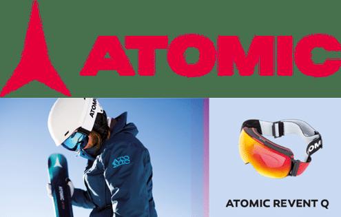 Maschere da sci Revent Q di Atomic