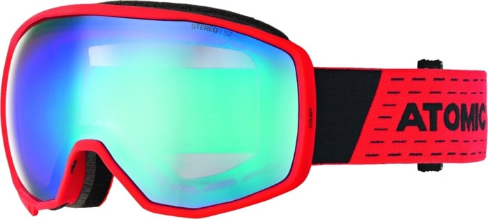 SK-X Skibrille Atomic Count Red Blue
