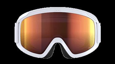 SK-X Skibrille OPSIN Clarity von POC in den Farben Hydrogen White/Spektris Orange