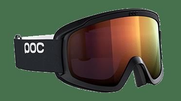 SK-X Skibrille OPSIN Clarity von POC in den Farben Uranium Black/Spektris Orange